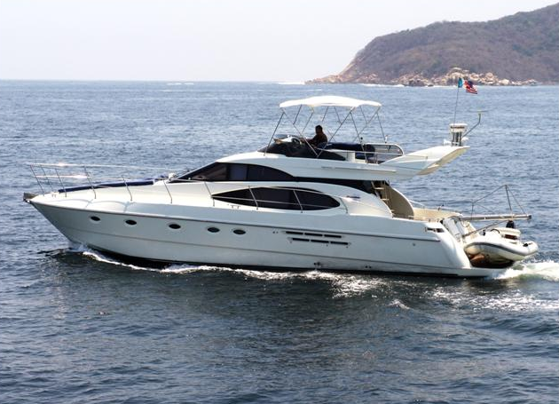 Yate Azimut disponible en Acapulco