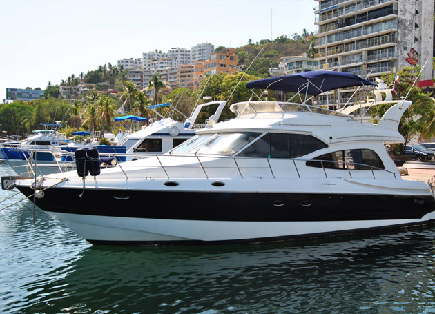 Yate Crusier disponible en Acapulco